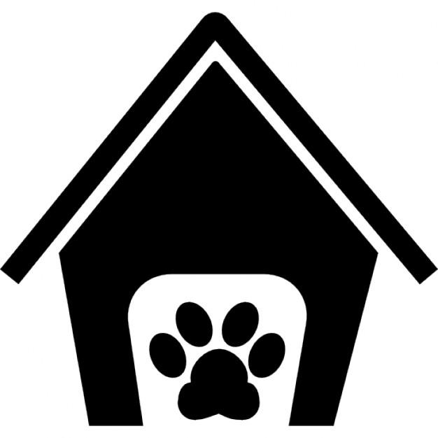 Hospedagem de Cães em Niterói RJ hospedagem de cães em niterói - pets hotel house sign with a paw 318 51268 - Hospedagem de Cães em Niterói – Hotel para Cães